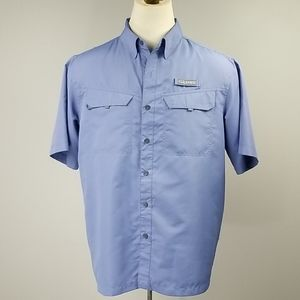 Habit Camp/Fishing Shirt Sleeved Button Down Large